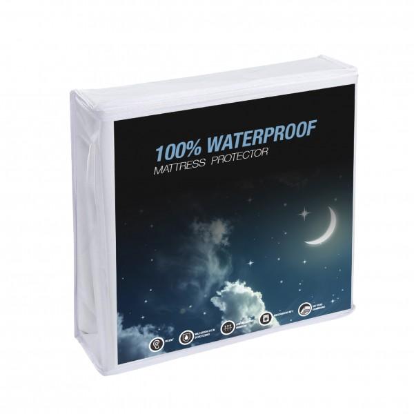 Wasserdichtes Molton-Spannbettlaken