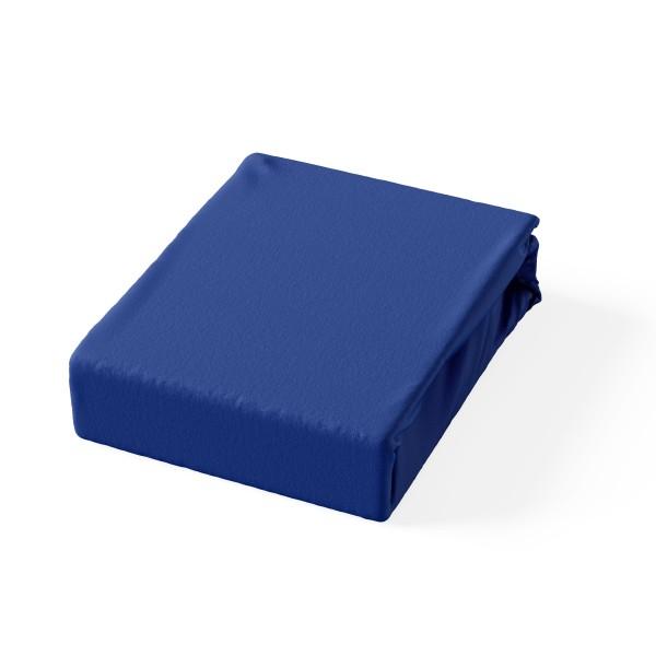 Carlo Jersey Spannbetlaken Blau